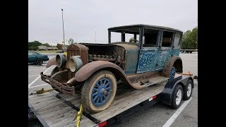 Download 1928 FRANKLIN FIRST START 71 YEARS OFF THE ROAD WILL IT RUN? Video