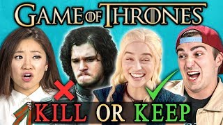 Download KILL or KEEP: Game of Thrones Finale Challenge (React) Video