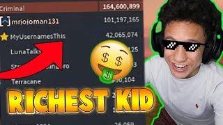 Download RICHEST KID IN JAILBREAK?! (Roblox Jailbreak) Video