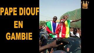 Download PAPE DIOUF accueilli en grande pompe en Gambie Video