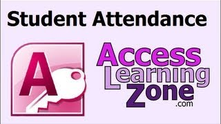 Download Microsoft Access: Tracking Student Attendance, Append Query Video