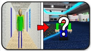 Download Creating And Becoming Baldi Basic In Roblox Animatronic World Video