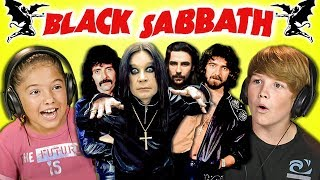 Download KIDS REACT TO BLACK SABBATH Video