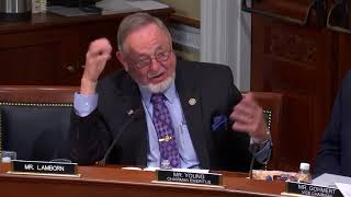Download Congressman Don Young Speaks to H.R. 4069 at House Natural Resources Committee Video