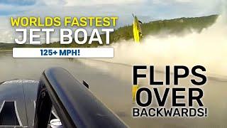 Download Worlds Fastest Riverboat Flips Over Backwards! Video