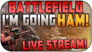 Download TIME TO SNIPE IT UP ON BATTLEFIELD 1! | Going Ham With My 2.15 K/D Ratio | Live Stream With Facecam! Video