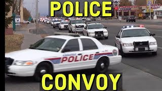 Download APD Albuquerque Police Department, BCSO Convoy with Lights and Sirens Video
