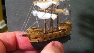 Download BEST Miniature Balsa Wood Boat Carving Time-Lapse & Sculpey Ocean Video