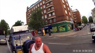 Download Road rage incident Putney, London (front view) - R898DKN Video