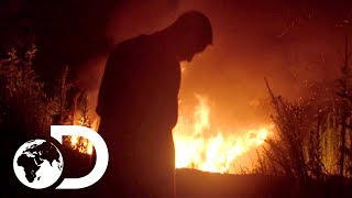 Download Moonshine Stash on Fire! | Moonshiners Video