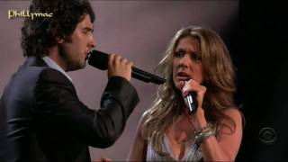 Download Celine Dion & Josh Groban Live ″The Prayer″ (HD 720p) Video