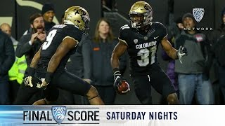 Download Highlights: Colorado football rumbles over Utah, into Pac-12 Football Championship Game Video