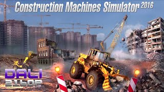 Download Construction Machines Simulator 2016 PC 4K UltraHD 60fps Gameplay 2160p Video