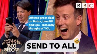 Download Strictly's Anton AGHAST as Michael McIntyre PRANK body shames his contacts💃😝 - Send To All Video
