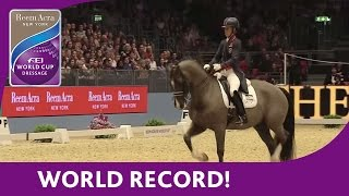 Download Charlotte Dujardin's World Record Breaking Freestyle test at London Olympia Video