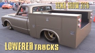 Download LOWERED TRUCKS of SEMA SHOW 2016 Video