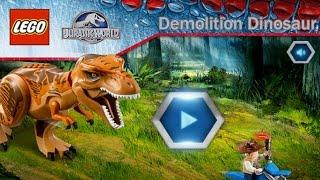 Download Lego Jurassic World: Demolition Dinosaur - Ridiculous Looking Dinosaurs (Gameplay) Video