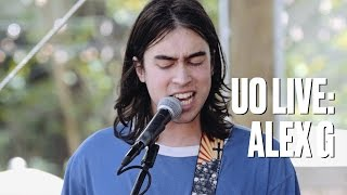 Download Alex G ″Boy″ — UO Live Video