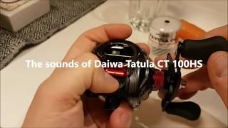 Download The sounds of Daiwa Tatula CT 100 Video