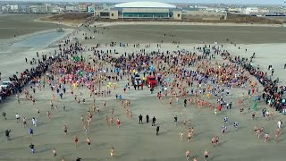 Download Polar Plunge 2020 Drone Video Video
