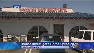 Download Masked Robbers Steal Cash From Donut Shop In Huntington Beach Video