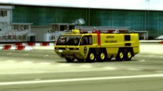 Download Boeing 777 Continental Emergency Landing@ Gibraltar {{ ENGINE FIRE }} Video