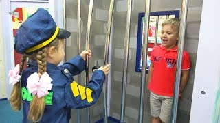 Download Diana pretend play Professions for kids Story in the Children's museum Video