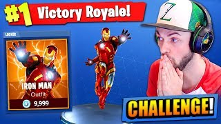 Download The IRON MAN CHALLENGE in Fortnite: Battle Royale! Video