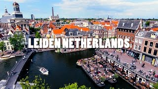 Download Leiden City Netherlands. Travel to Holland. Video