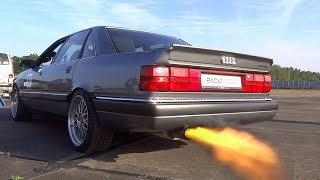 Download Best of Audi SOUNDs 20V Turbo Audi RS2 80 90 200 Coupe SOUND Video