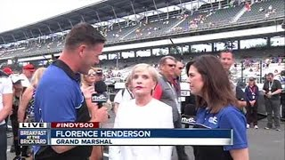 Download Florence Henderson at the Indy 500 Video