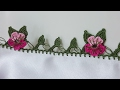 Download iki Yaprak Bir Çiçek Tığ Oyası Yapımı Video