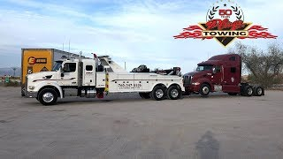 Download Unlocking an Abandoned Semi & Towing It Away For CHP Video