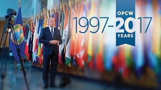 Download OPCW Director-General's 20th Anniversary Video: A Message of Progress Video
