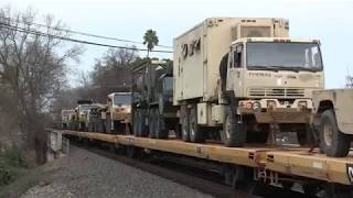 Download Large and In Charge: Chasing a BNSF Military Train on the Cal-P 1-21-18 Video