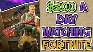Download How To Make $300 Per Day Watching Fortnite Videos Online (Automated Method) Video