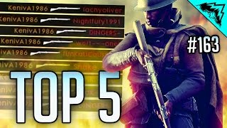 Download Battlefield 1 Top 5 EPIC Moments (SNIPING Collateral, Ricochet Tank, Sinai Debris Kill) WBCW #163 Video