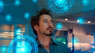 Download Tony Stark Discovers a New Element Scene - Iron-Man 2 (2010) Movie CLIP HD Video