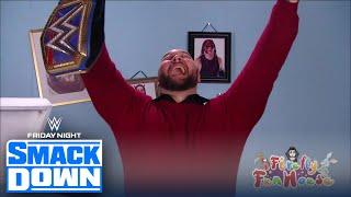 Download Wyatt interrupts Daniel Bryan on Miz TV, accepts Universal title challenge | FRIDAY NIGHT SMACKDOWN Video