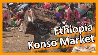 Download Ethiopia - Konso Market Video