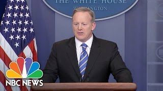 Download Sean Spicer: President Trump Maintains Belief That Millions Voted Illegally In Election | NBC News Video