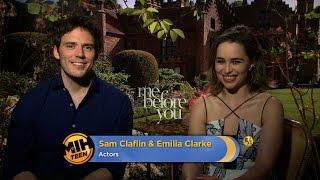 Download Actors Sam Claflin & Emilia Clarke on ″Me Before You″ Video