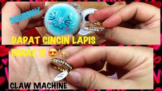 Download CAPIT CINCIN LAPIS EMAS!! SQUISHY # CLAW MACHINE # 夾娃娃 Video