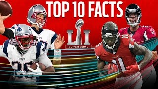 Download Top 10 Facts To Know Going Into Super Bowl LI | Patriots vs. Falcons | NFL NOW Video