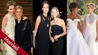 Download Top 10 Lesbian Couples in Hollywood Who Got Married Video
