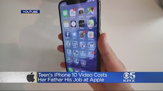 Download Apple Engineer Loses Job After Daughter's Video Of Using iPhone 10 Goes Viral Video