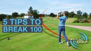 Download 5 GOLF TIPS TO BREAK 100 Video