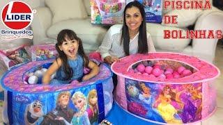 Download Lider Brinquedos bolinhas Frozen Princesas Disney Video