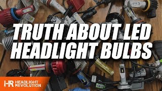 Download The TRUTH about LED Headlight Bulbs! WATCH BEFORE BUYING ANYTHING Video