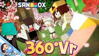 Download *360도 VR* 술래를 피해 미션을 수행하라?! [마인크래프트 360VR: 무궁화 꽃이 피었습니다!!] - Minecraft 360VR - [잠뜰] Video